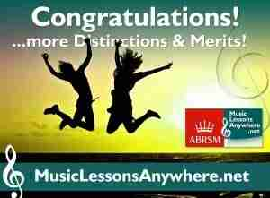 Congratulations ABRSM piano exams - Music Lessons Anywhere
