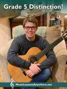 online guitar lessons Exam Distinction