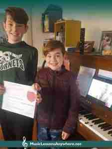 Students Of The Month at Music Lessons Anywhere