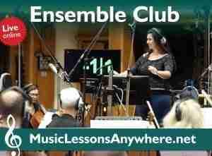 Live Online Music Ensemble Club Workshop
