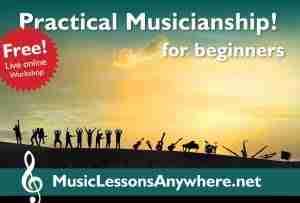 Practical Musicianship live online Workshop