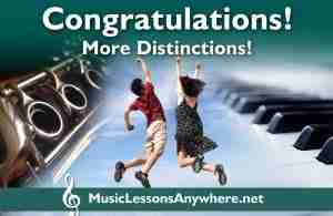 Congratulations ABRSM Clarinet and Piano Exams Distinctions - Music Lessons Anywhere