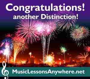 MTB Piano Exam Distinction - Music Lessons Anywhere