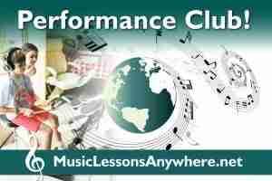 Live online music Performance Club Workshop