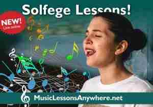 Zoom solfege lessons online