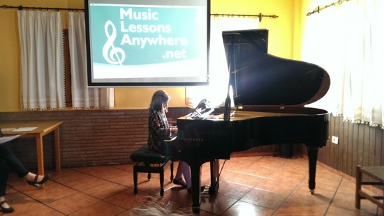 01b MusicLessonsAnywhere.net Piano Lessons Online Spring Concert 22nd March 2014
