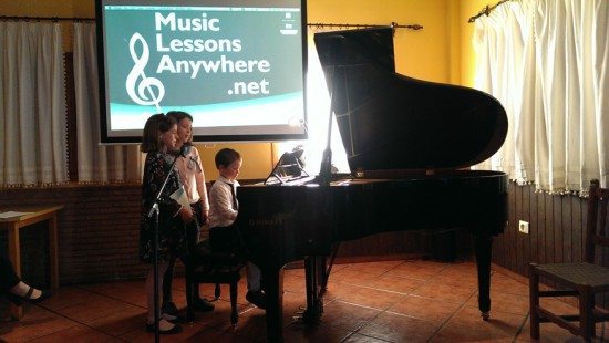 05b MusicLessonsAnywhere.net Piano Lessons Online Spring Concert 22nd March 2014