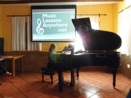 12b MusicLessonsAnywhere.net Piano Lessons Online Spring Concert 22nd March 2014