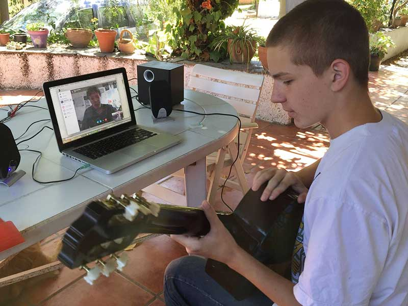 Music Lessons Anywhere Skype guitar lessons
